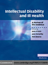 Intellectual Disability and Ill Health (eBook): A Review of the Evidence